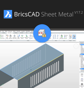 BricsCAD Sheet Metal V17.2