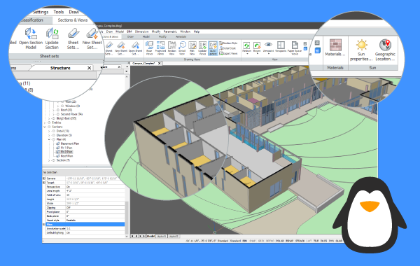 Last, but not least: BricsCAD V17 for Linux