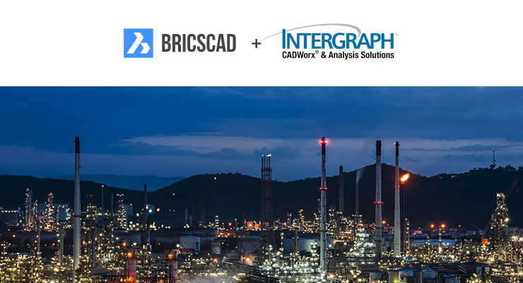 Intergraph® CADWorx® Plant 2017 R1 now runs on the AutoCAD® and BricsCAD® platforms