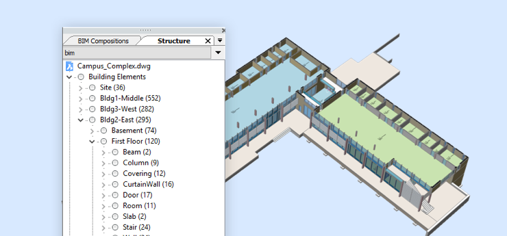 structure-panel-bricscad-feature