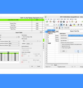 BricsCAD Spreadsheet Import Tutorial