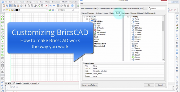 BricsCAd_Menu_customization