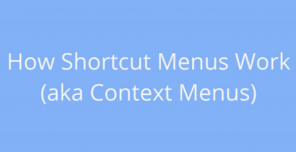Shotcut Menu Tutorial BricsCAD