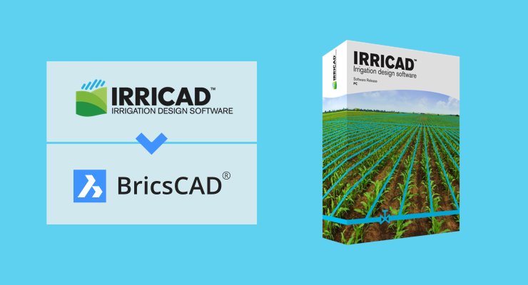 IRRICAD Link now runs on BricsCAD