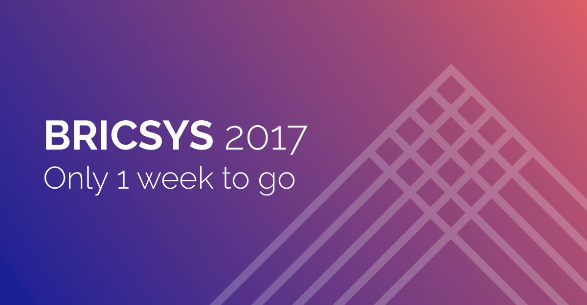 Counting down to the Bricsys 2017 Conference