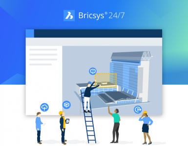 Bricsys 24/7 Announcement Interface