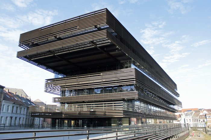 De Krook Library in Gent
