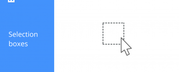 Selection boxes icon in BricsCAD Shape