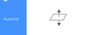 Push/Pull icon BricsCAD Shape