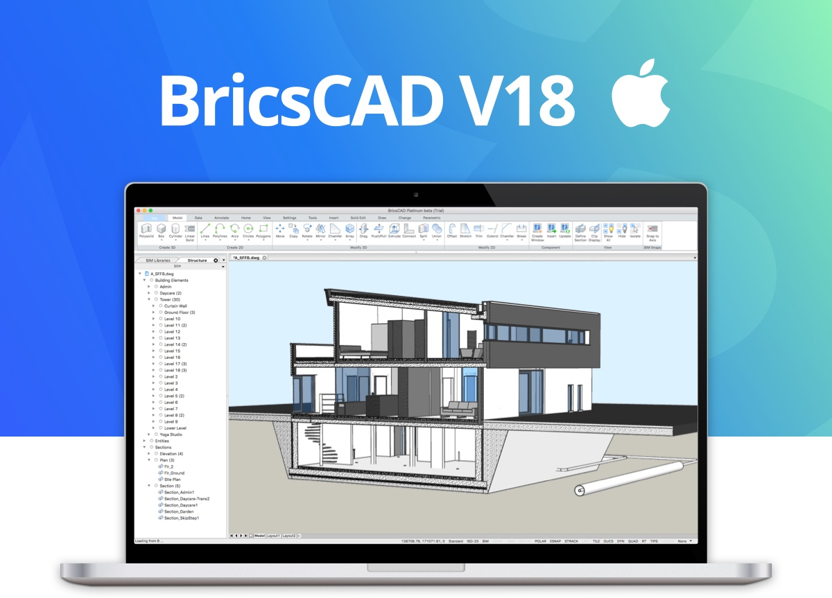 BricsCAD V18 OS X is available today!