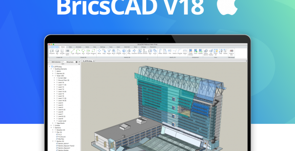 BricsCAD V18 for Mac OS X