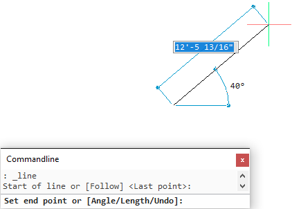 BricsCAD Drawing Entities - Line