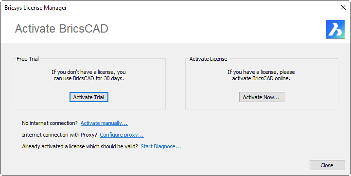 HH_BricsCAD Activation