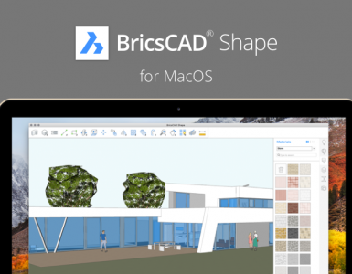 BricsCAD Shape for MacOS is here