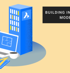 Illustration of 3D BIM building and design tools