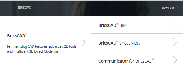 BricsCAD modules