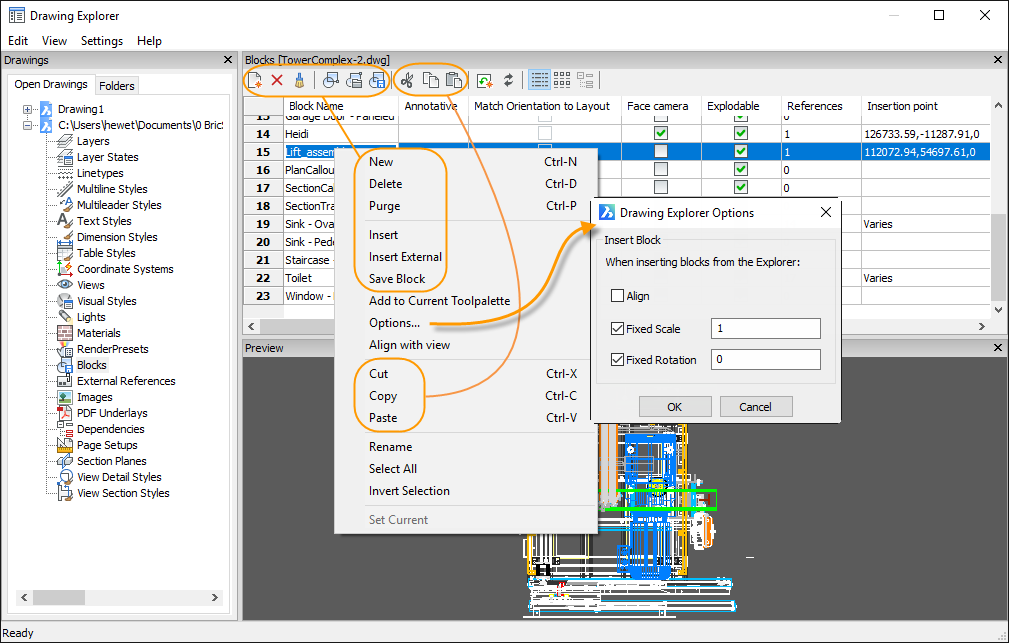 BricsCAD Journey - Part 12: Working with Blocks - Bricsys CAD Blog
