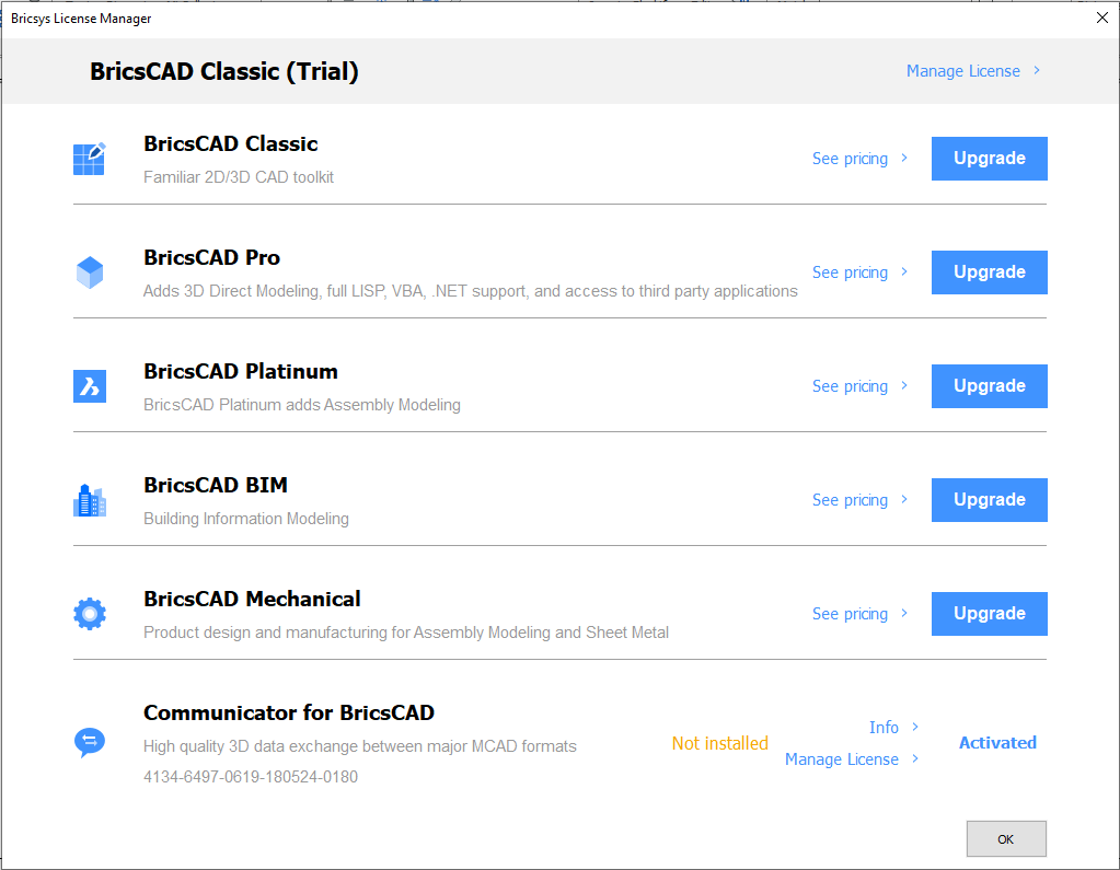 BricsCAD Journey - Part 11: License Options - Bricsys CAD Blog