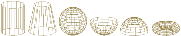 Curved Mesh Primitives