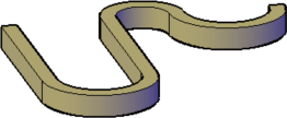 Polysolid with arcs