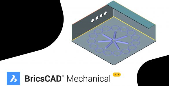 bricscad mechanica v19 sheet metal