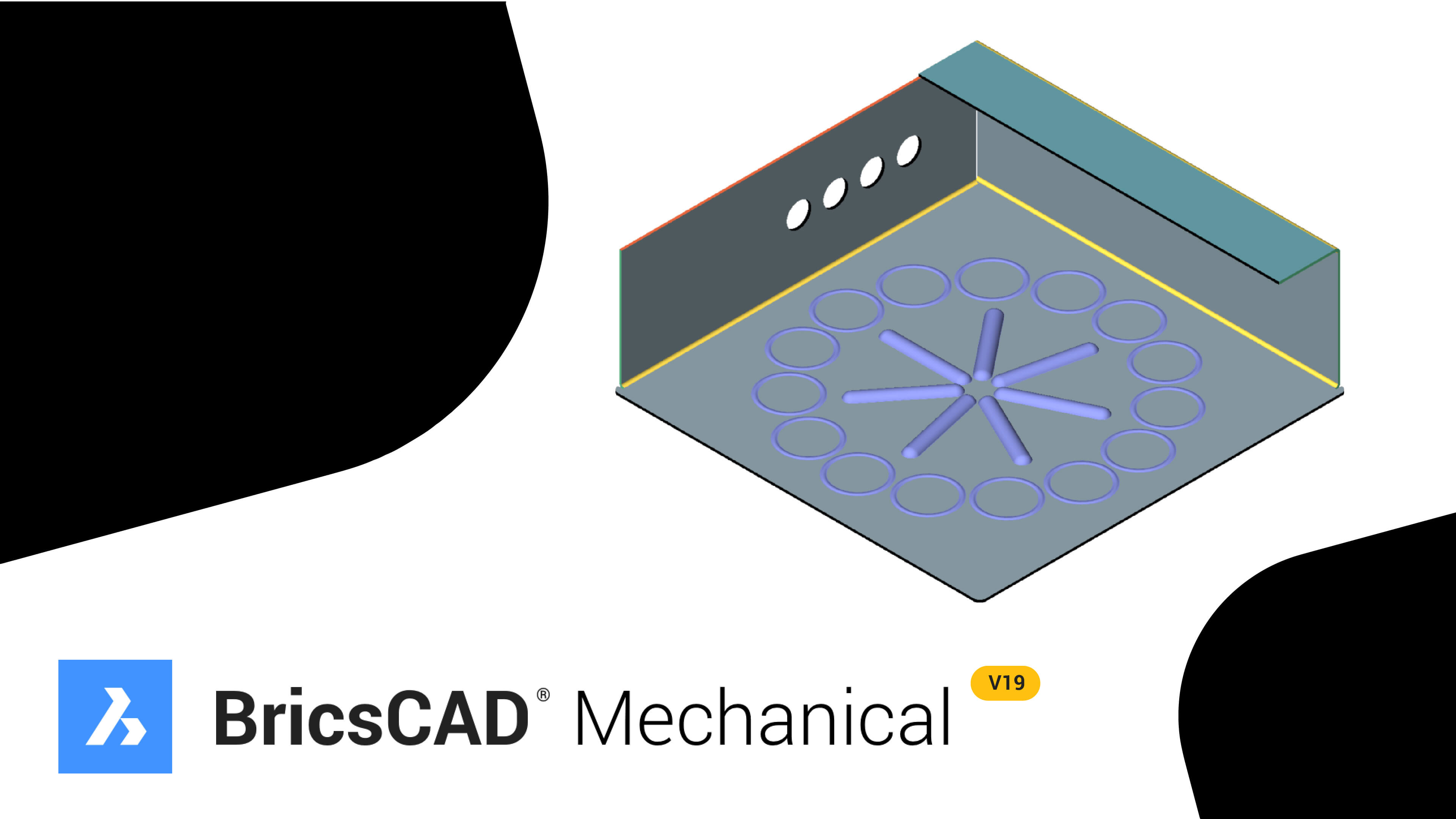 Introducing BricsCAD® Mechanical – Sheet Metal