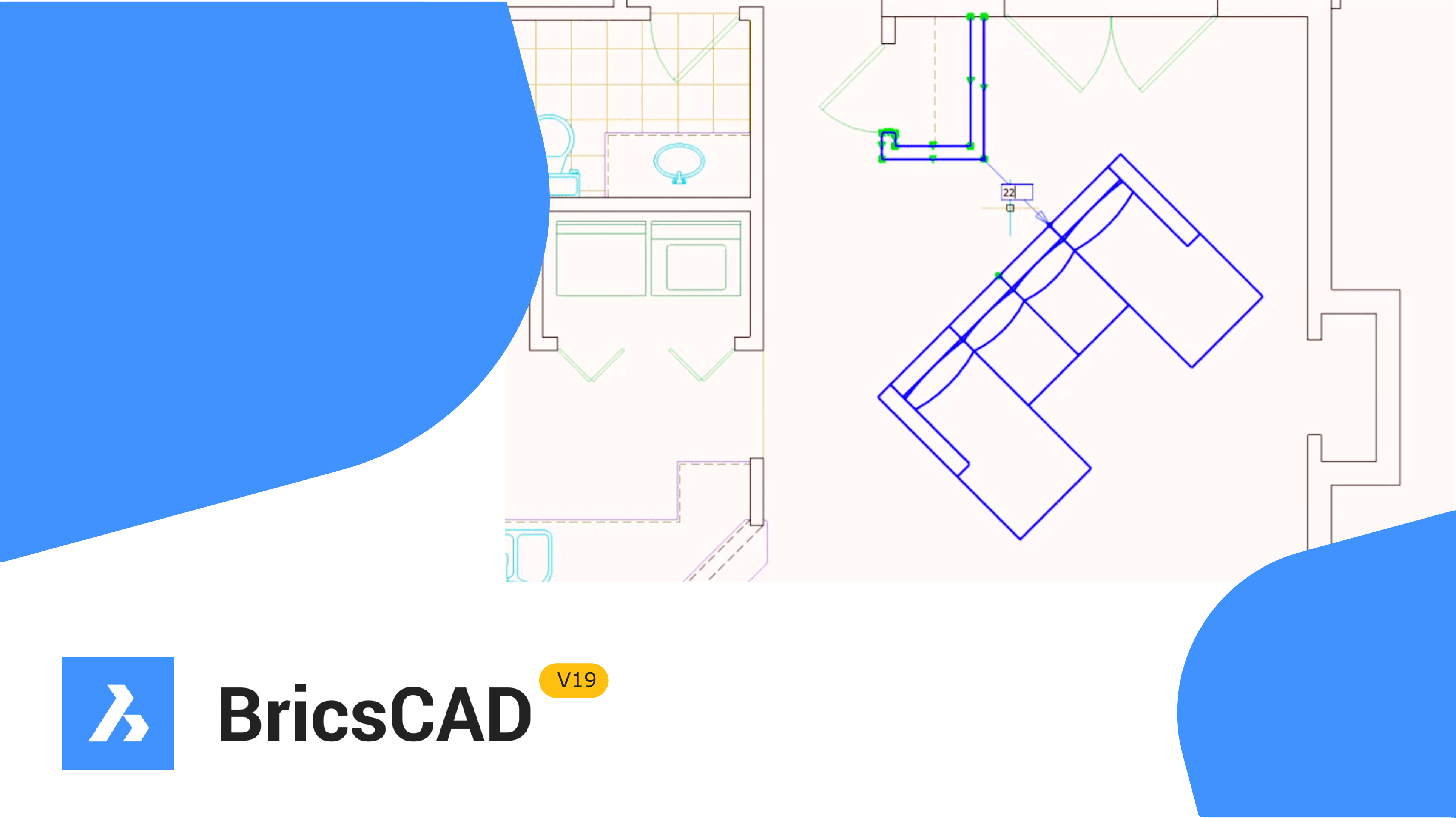 New in BricsCAD v19 – Nearest Distance