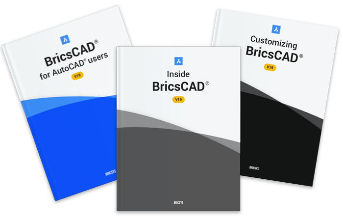 BricsCAD guide book books