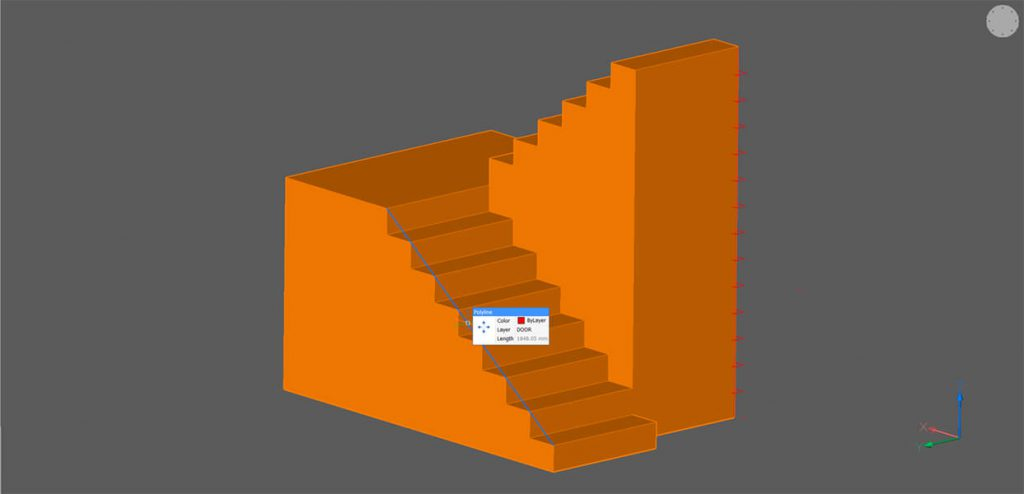 How to Draw Stairs in 3D