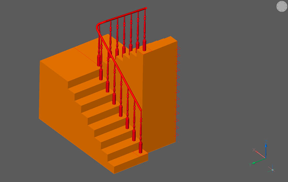 How to Draw Stairs in 3D advanced modeling techniques CAD