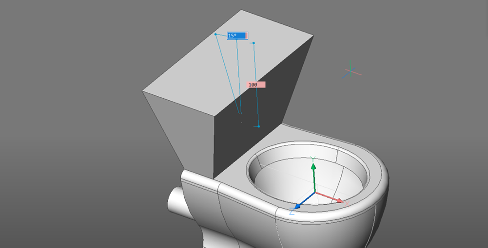 toilet drawing tank extrude
