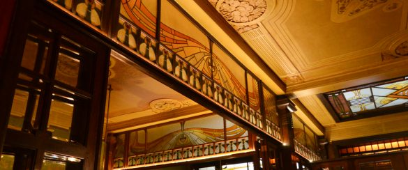 Cohn-Donnat House Paul Hamesse interior Art nouveau Art deco brussels BANDAN