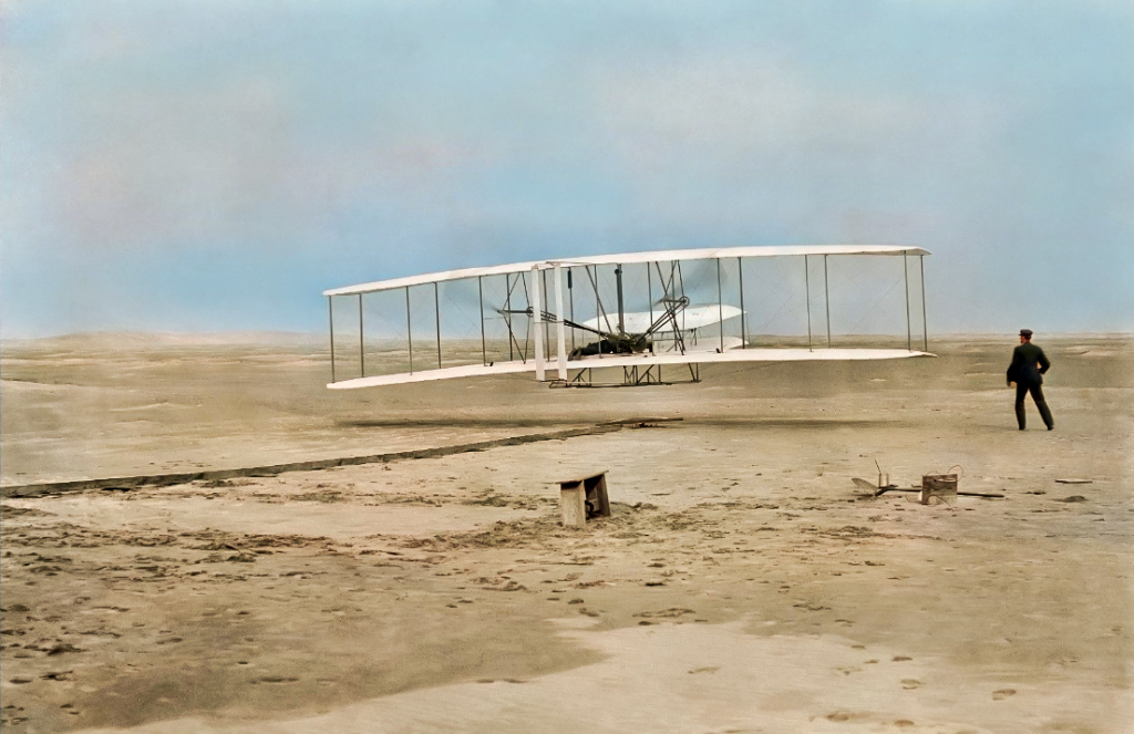 1900s 1800s photos in color engineering history wright brothers coloured photography