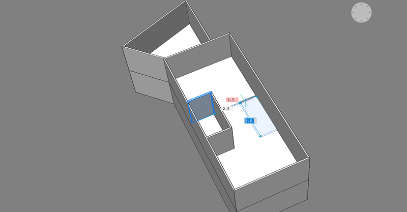 bim project quickdraw room creation automatic