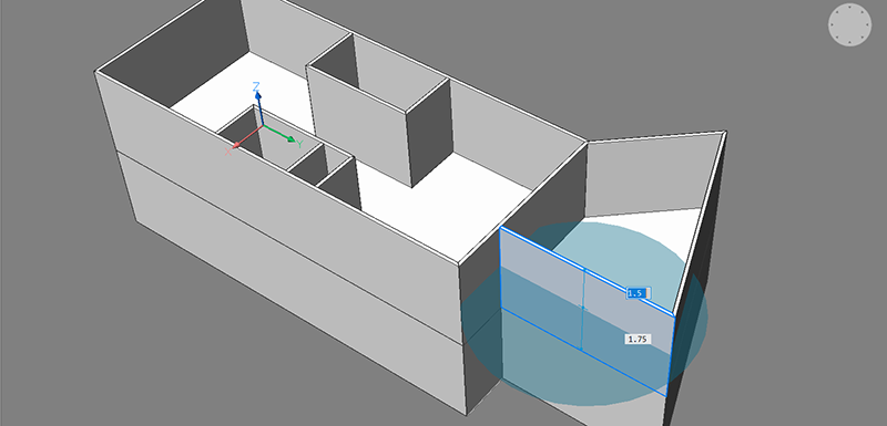 bim project multi slice, create terrace