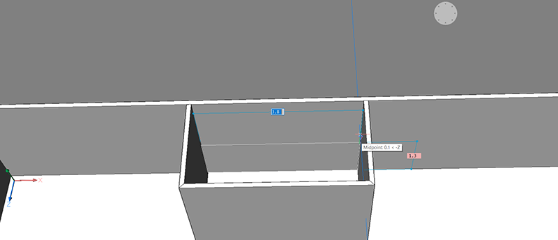 bim project create terrace polyline