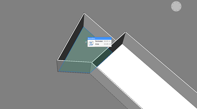 bim project create slab floor boundary extrusion