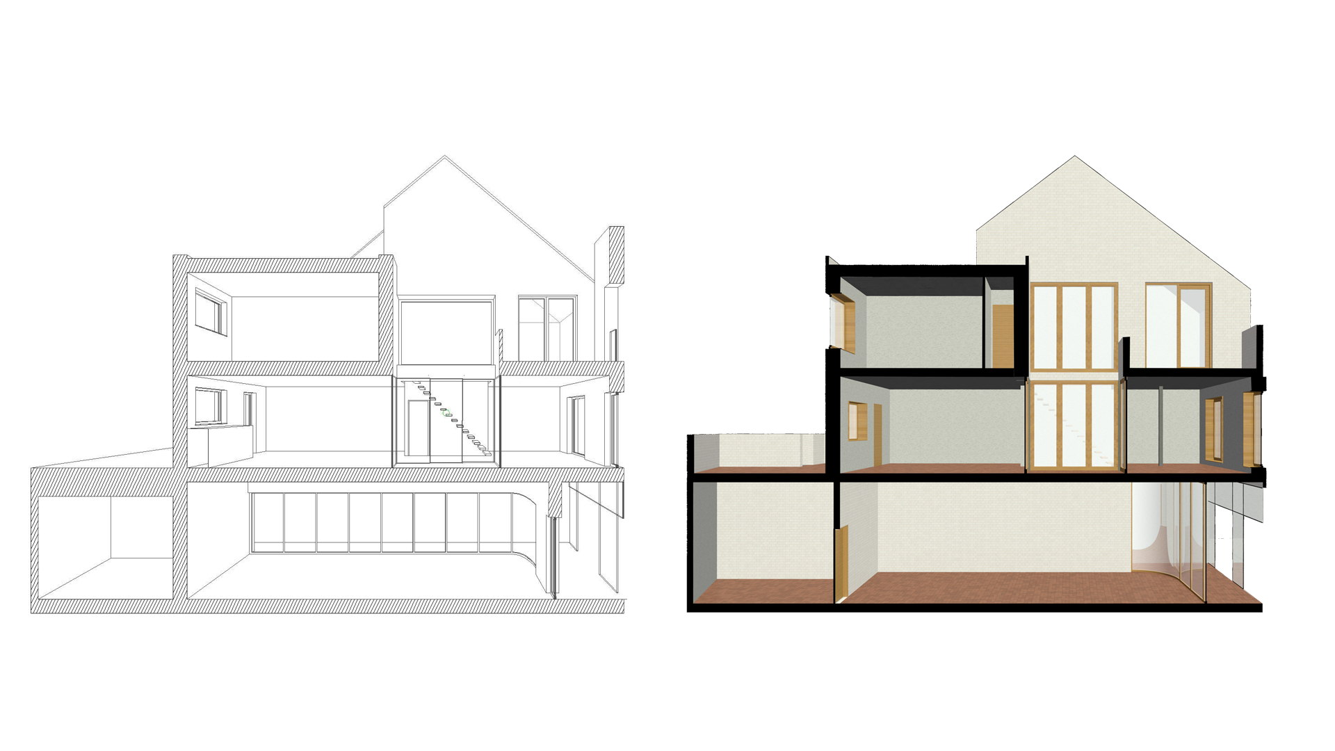 section vie house drafting student gent ghent