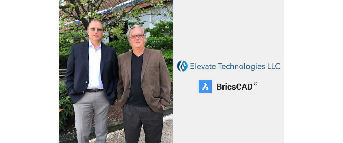 Bricsys team welcomes Elevate Technologies as a US reseller
