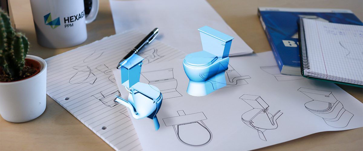 2D, 3D, BIM – 7: The Bathroom Part 3 – The toilet