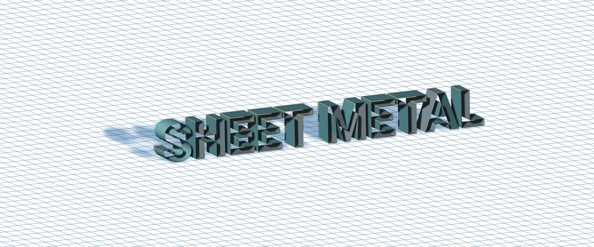 Sheet Metal Tips – BricsCAD Mechanical