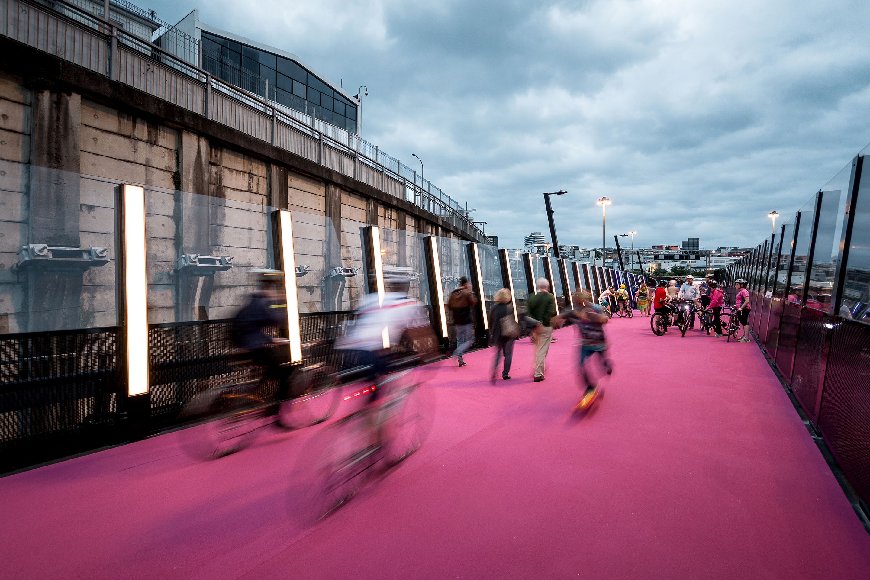 Architecture for cyclists cycle routes