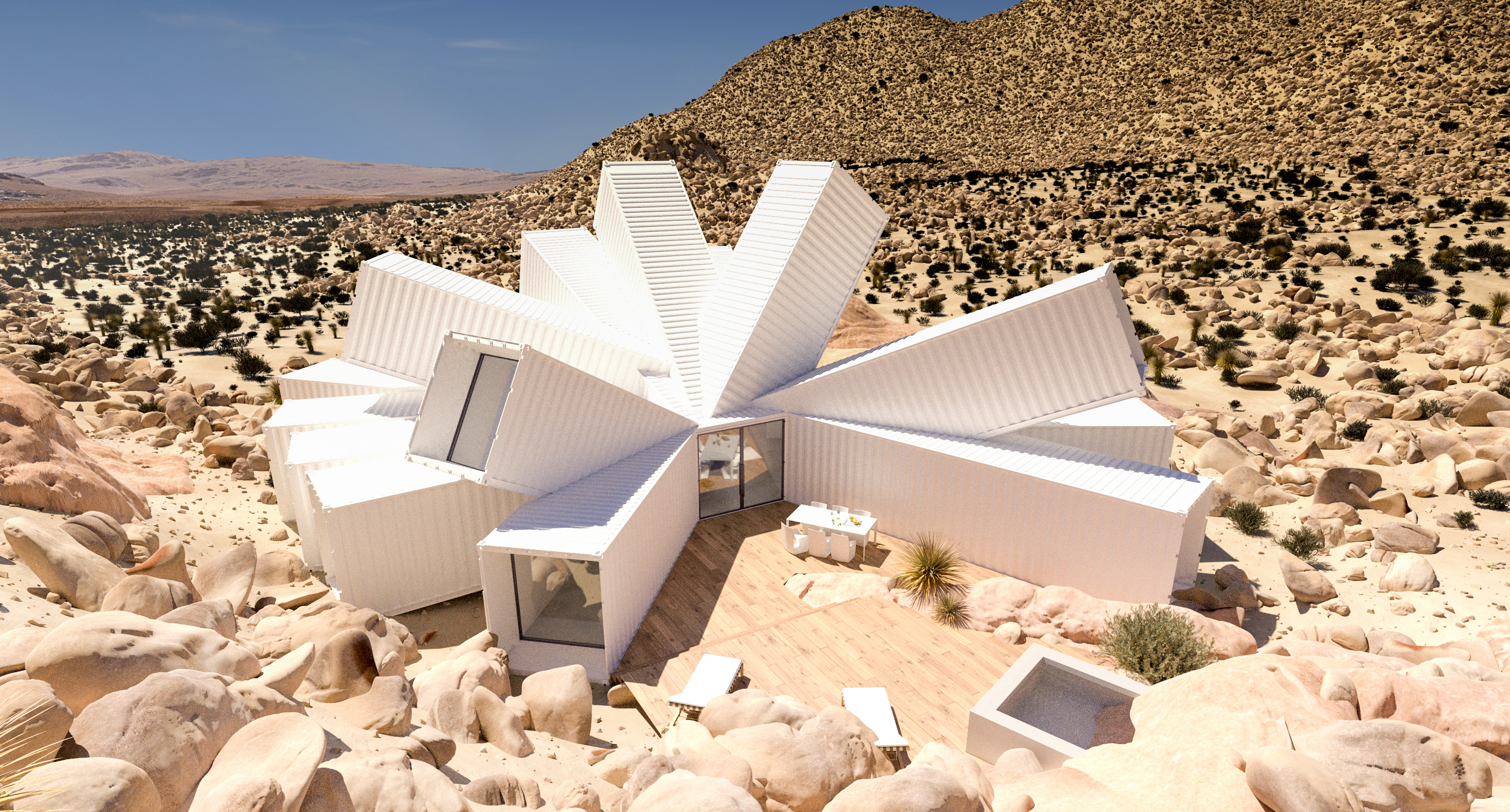 containertecture joshua tree residence