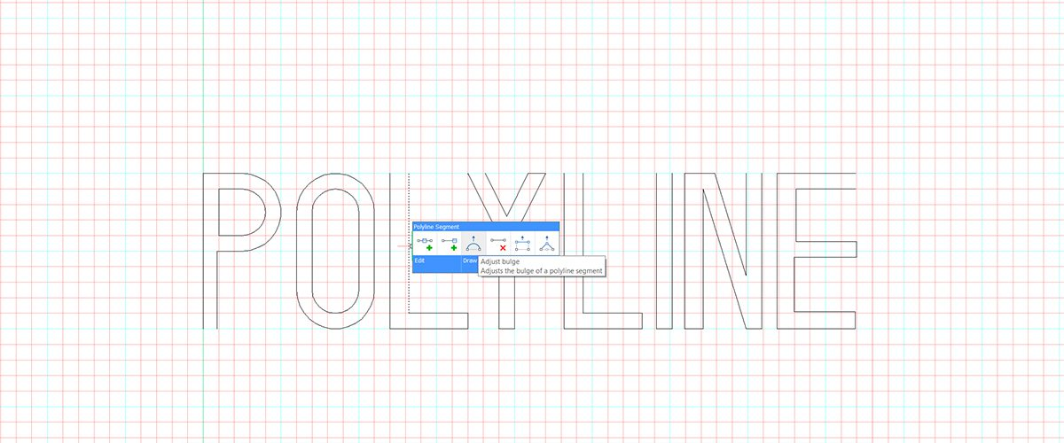 Tuesday Tips – Edit polylines in BricsCAD