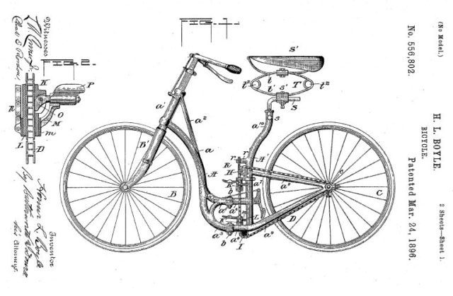 first folding bicycle