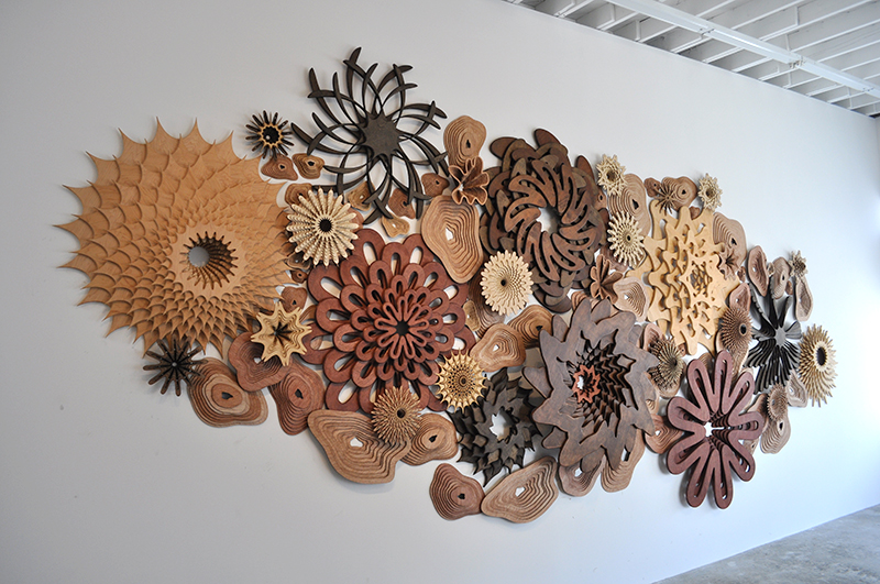 laser cut art by artist Joshua Abarbanel