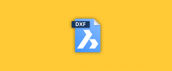 dxf files in BricsCAD