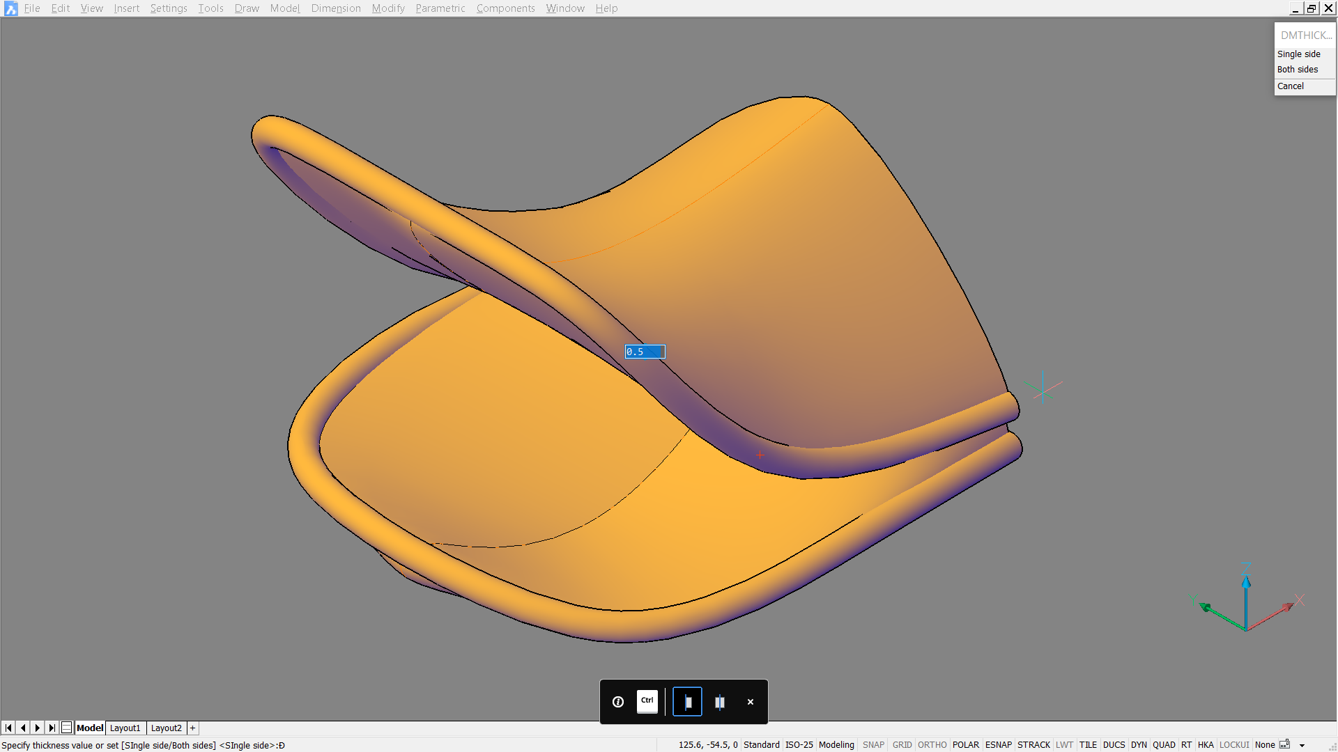 how to make a rubber duck in CAD rhino BricsCAD