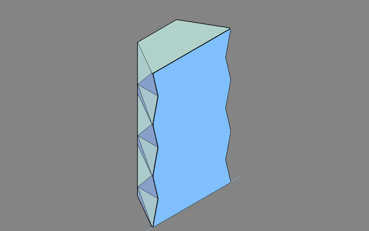 solid object no gaps