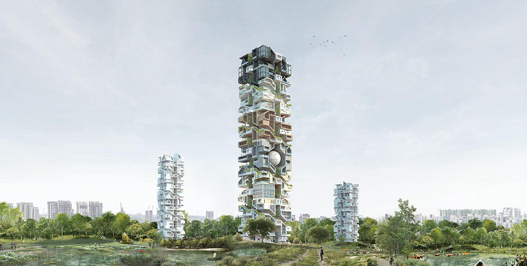skyhive 3rd price architecture competition winner